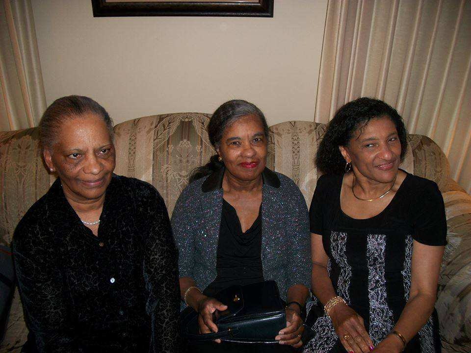 mom and sisters funeral