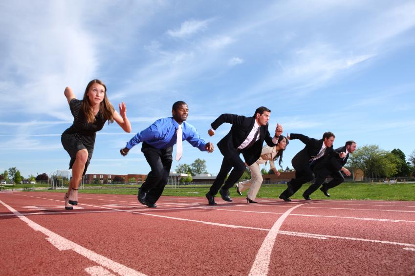 Sprinting-executives
